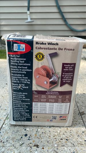 Goldenrod Dutton-Lainson DLB800A Brake Winch 800 lb for Sale in Oak Lawn, IL