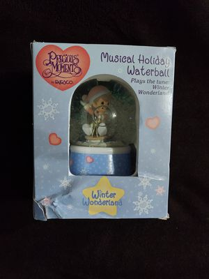 Precious moments musical holiday waterball for Sale in Portland, OR