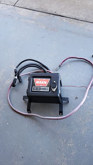Warn 9.5xp control pack for a winch for Sale in Moreno Valley, CA