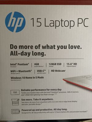BRAND NEW HP LAPTOP for Sale in Missouri City, TX