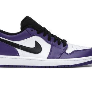 Jordan 1 Low Court Purple for Sale in Tualatin, OR