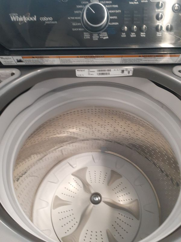 Whirlpool washer and electric dryer good condition 90 days warranty