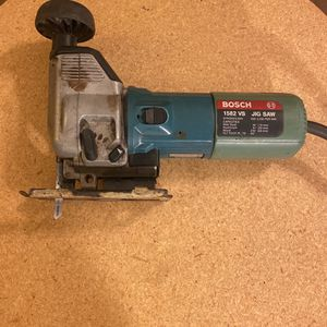 BOSCH 1582 VS Jig Saw 4.8 Amps 6 Speed Works Great ! for Sale in Philadelphia, PA