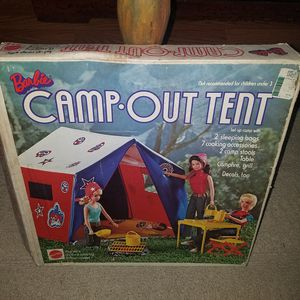 Vintage barbie camp our tent for Sale in Virginia Beach, VA