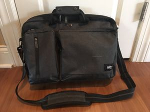 Soho brand men's laptop briefcase, charcoal gray for Sale in Park Ridge, IL