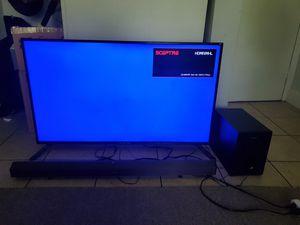 """Sceptre 43"""" Tv w/ Sony Soundbar and subwoofer for Sale in Sarasota, FL"""