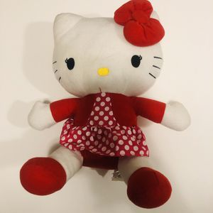 "Hello Kitty Sanrio 12"" Plush Red White Dress for Sale in Blackwood, NJ"