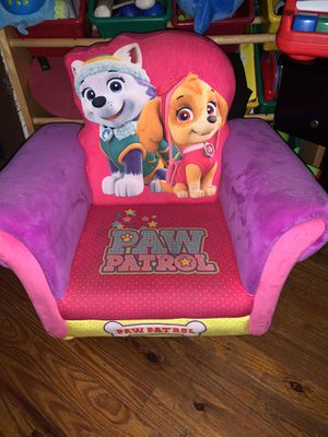 Kids Paw Patrol Chair for Sale in Cartersville, GA