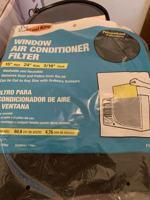 Brand new frost king window ac filter for Sale in Cole, OK