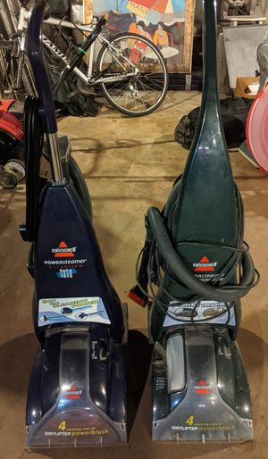 Bissell Steam Carpet Cleaners w 12 Gallons of Cleaner for Sale in Oak Park, IL