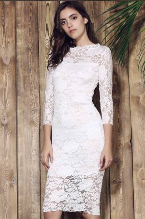 White lace dress for Sale in Mount Healthy, OH