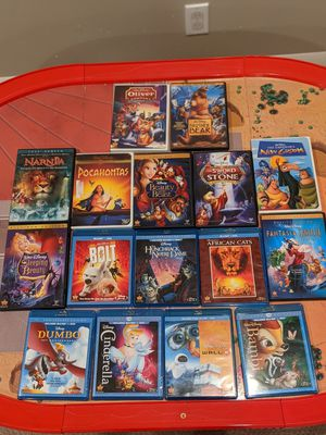 Disney Blu-ray & DVD Collection (16 total) for Sale in Seattle, WA