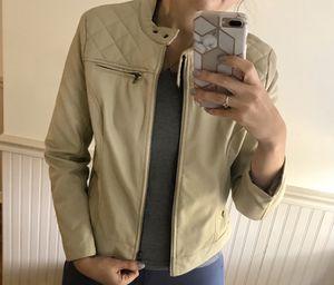 Faux leather jacket for Sale in Mount Laurel Township, NJ