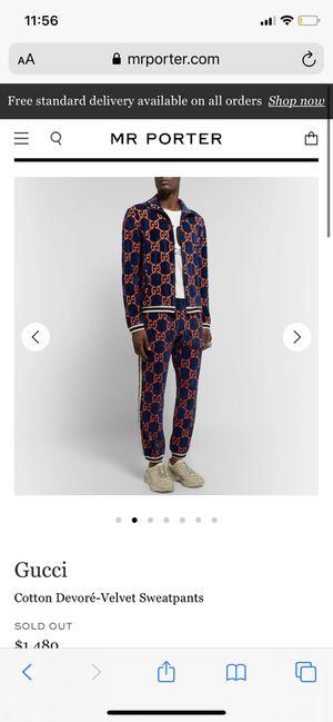 Gucci sweatpants for Sale in TN OF TONA, NY