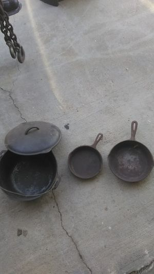 Camping cooking pots for Sale in Grand Terrace, CA
