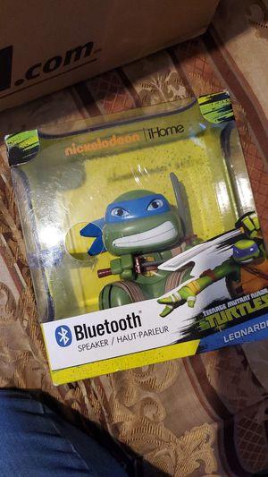 Bluetooth teenage mutant ninja turtles speaker for Sale in El Mirage, AZ