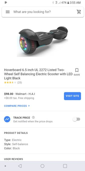 Hoverboard exc condition in box for Sale in Gladewater, TX