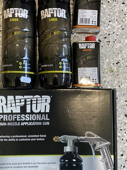 Raptor Bed Liner and Variable Application Gun for Sale in San Jose,  CA