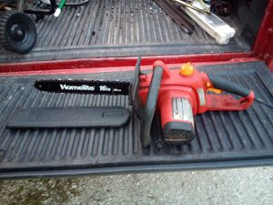 Homelite 16in 40cm electric chainsaw for Sale in Lemont, IL