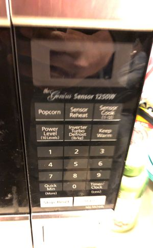 "Panasonic microwave ""1250 watts"" for Sale in Seattle, WA"