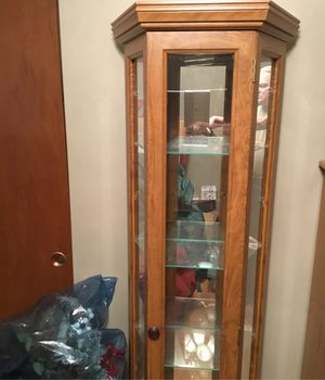 Curio cabinet for Sale in Oak Forest, IL
