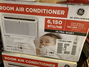 Brand new GE ultra quiet motor high end window ac air conditioner. $340 at store!! for Sale in Glendale, AZ