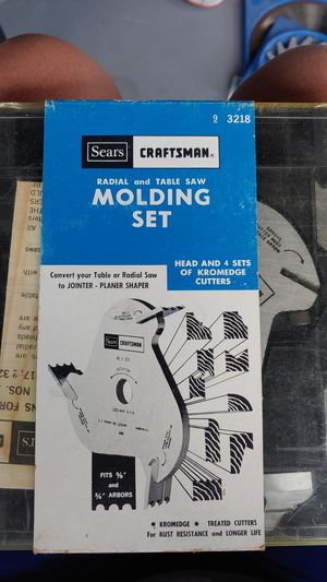 New. Craftsman molding set for Sale in Sun City, AZ