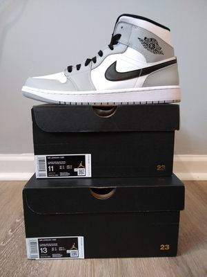 Nike Air Jordan 1 Mid 'Shadow' Grey Black White 554724-092.. Sizes: 13M for Sale in Parkdale, OH
