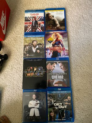 Blu Ray + DVD Combo's for sale. $6 ea. for Sale in Littleton, CO