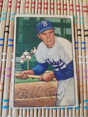 1952 Bowman Card - Pee Wee Reese for Sale in Montclair, NJ