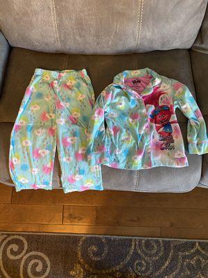 Girls 4T Trolls pajamas for Sale in Glendale, AZ
