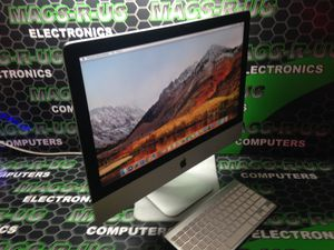 Apple 🖥 iMac all in one desktop computer with 90 days warranty in Mint Condition! for Sale in Houston, TX