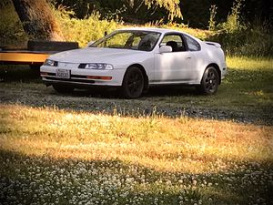 1992 Honda prelude si with 4ws needs Iacv back of car is plasti dipped 2000 or trade for small truck for Sale in Lakebay, WA