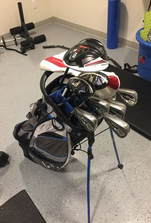 Full set of golf clubs for left hander for Sale in Seattle, WA
