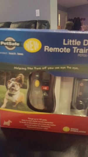 NEW PETSAFE LITTLE DOG REMOTE TRAINER for Sale in House Springs, MO