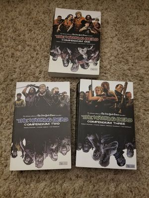 Walking Dead Compendium 1, 2, and 3 for Sale in Eau Claire, WI