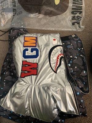 Bape shark puffer size l for Sale in Denver, CO