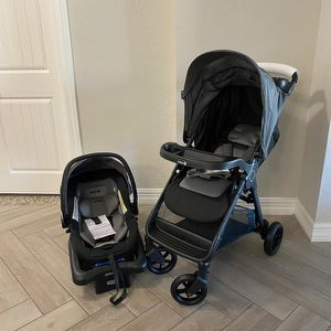 Safety 1st Smooth Ride Travel System with OnBoard 35 LT Infant Car Seat [ Stroller + Car Seat]- BRAND NEW IN BOX for Sale in Sun City, AZ