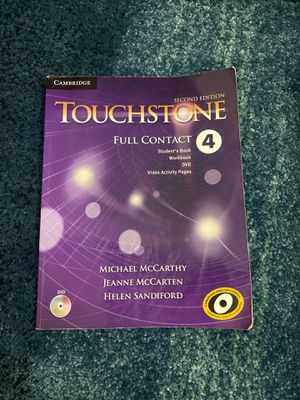 Touchstone full contact 4 with CD for Sale in Newark, NJ