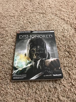 Dishonored strategy guide for Sale in San Diego, CA