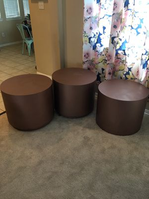 Drum tables for Sale in Aubrey, TX