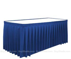 Royal blue pleated table skirts. 17 feet. 21 feet. GORGEOUS. wedding for Sale in Harrisonburg, VA