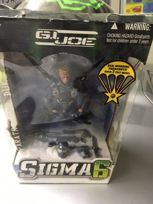 Vintage Gi Joe Sigma Six Duke working parachute Action Figure Toy Collection for Sale in El Paso, TX