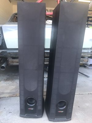 Polk audio floor speakers for Sale in Mesa, AZ