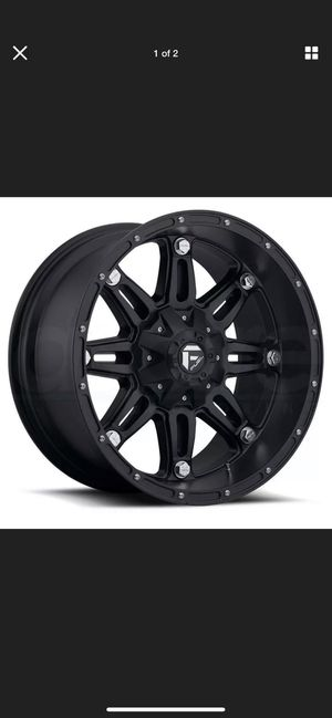 Fuel Hostage Rims Universal 6 Lug for Sale in Dallas, TX
