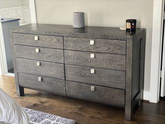 Grey Dresser and Nightstand Stands for Sale in Elkridge,  MD
