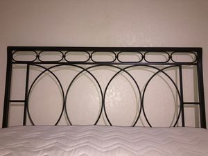 Bed frame from pier one for Sale in Lake Stevens, WA