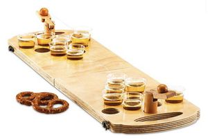 Studio Mercantile 24-Pc. Mini Wood Beer Pong Game for Sale in Ashburn, VA