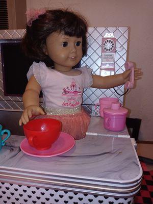 1 American gril ,1 OG doll and OG cafeteria for Sale in San Diego, CA