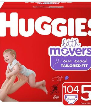 Huggies little movers size 5 box for Sale in Portland, OR
